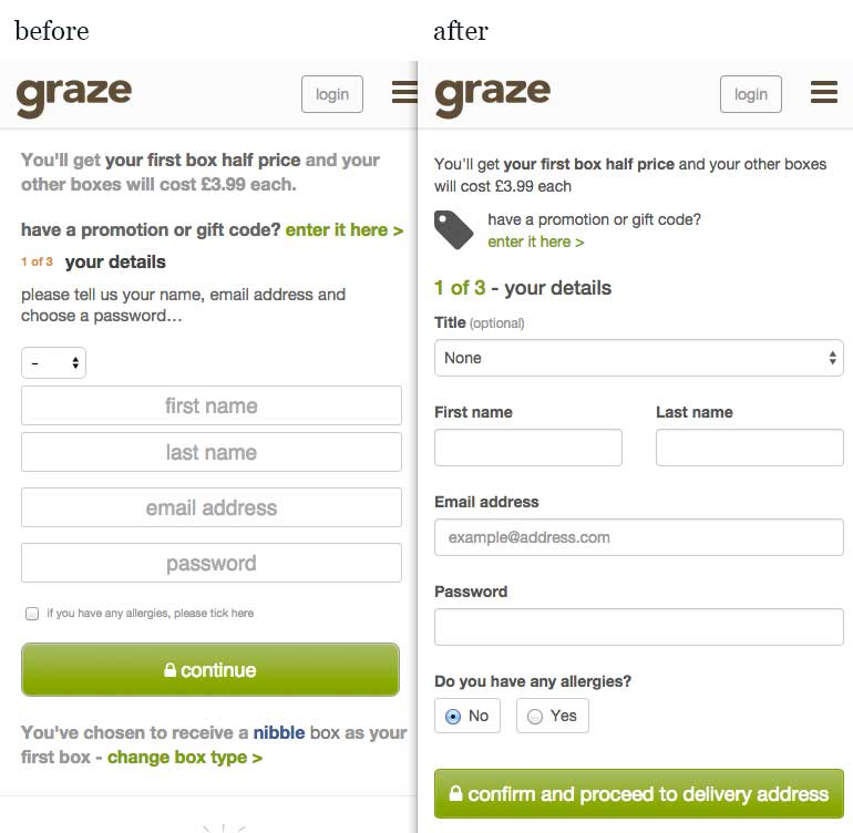 graze signup comparison